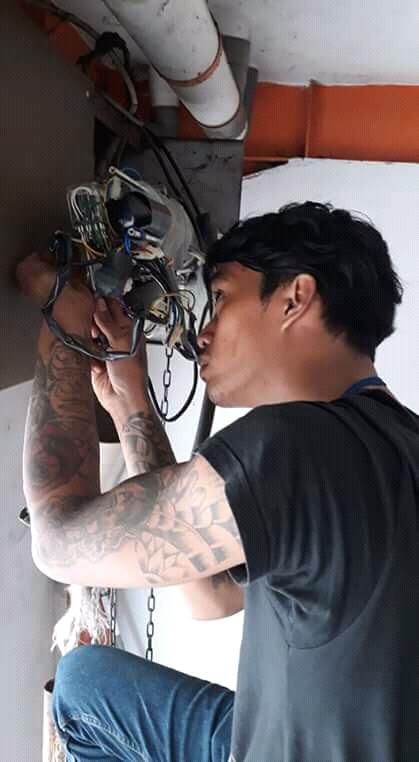 Service Rolling Door Mesin